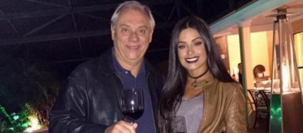 Marcelo Rezende e Aline Riscado - Instagram