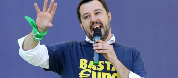 Matteo Salvini è il leader della Lega Nord.