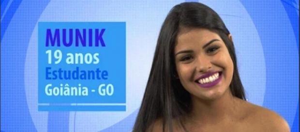 Munik, participante do BBB 16 (Reprodução/Globo)