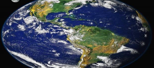 NASA's satellite view of the Earth (Wikipedia)