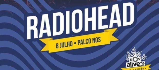 Radiohead confirmados no NOS Alive a 8 de Julho