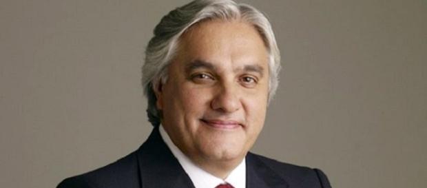 Senador Delcídio do Amaral antes da prisão