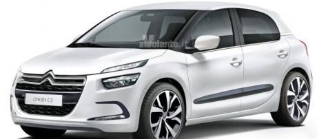Rendering di AlVolante della Citroën C3