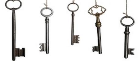 The keys of the social network