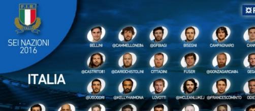 30 convocati dell'Italia per il 6 Nazioni di rugby