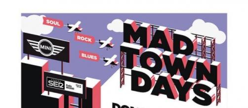 Cartel MAD TOWN DAYS, Feb -Mayo 2016