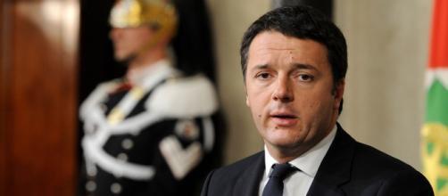 Il Presidente del Consiglio Matteo Renzi