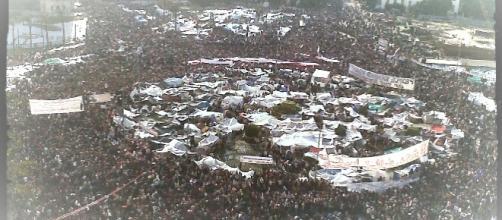 Piazza Tahir, luogo simbolo della primavera araba