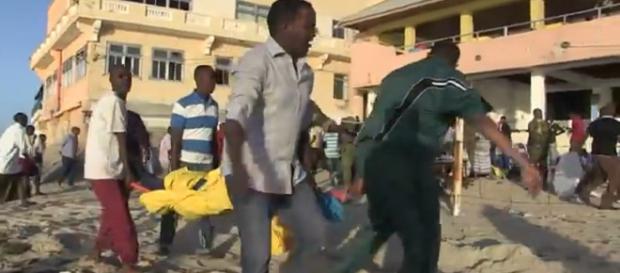 Ataque terrorista en Somalia AFP