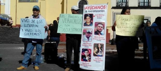 Cinco jóvenes desaparecidos en Tierra Blanca