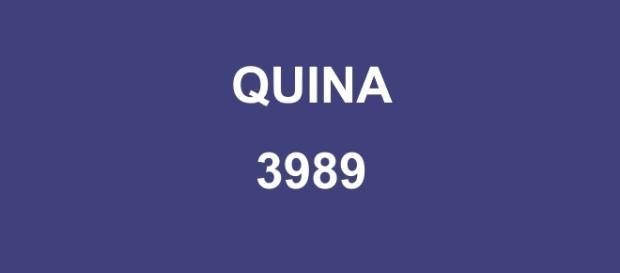 Concurso Quina 3989 sorteou mais de R$ 1 milhão