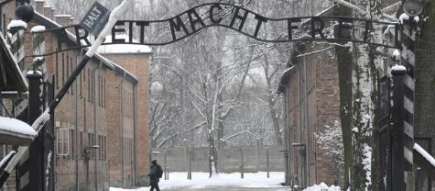 Entrata del campo di concentramento