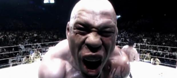 Lutador Wanderlei Silva, em combate