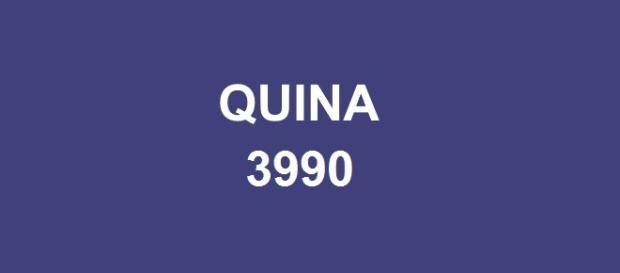Quina 3990 sorteou prêmio de R$ 1,2 milhão