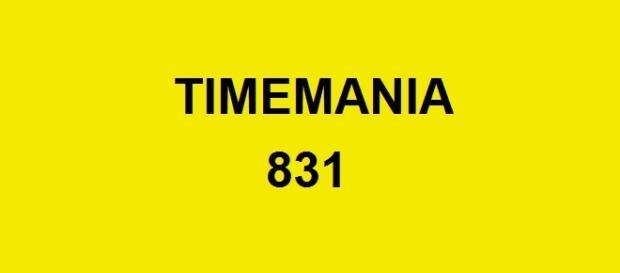 Timemania 831 sorteou prêmio de R$ 1 milhão