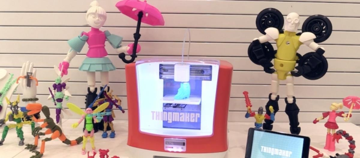 Para Niños Mattel Lanza Una Impresora 3d H29DWEIY