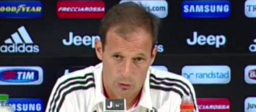 Juventus-Roma, notizie 23 gennaio: Max Allegri
