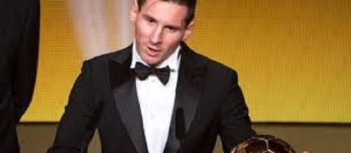 Messi balón de ORO GANADOR 2015