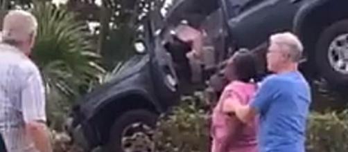 Mysterious Crash Video [Image via Facebook]