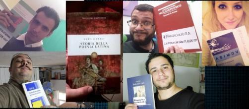 Sfida culturale a colpi di selfie con i libri