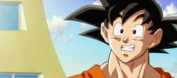 Goku en el ultimo episodio de la serie