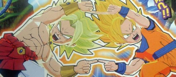 Goku y Broly una de las fusiones que nos muestran