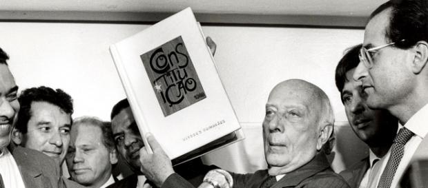Ulysses Guimarães, Constituição Federal - 1988