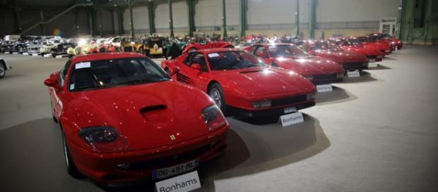 une bien belle brochette de Ferrari à vendre