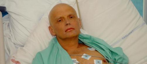 El exespía ruso Alexánder Litvinenko en 2006