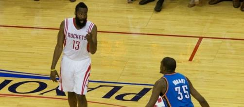 Harden (13), 30 points plus 8 assists (Wikipedia)