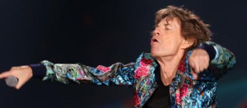 Jagger en escena y la energía que lo caracteriza