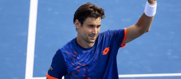 Ferrer celebrando una victoria