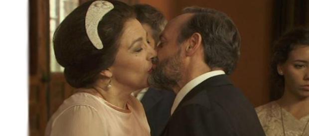 Il Segreto: il matrimonio di Francisca e Raimundo.
