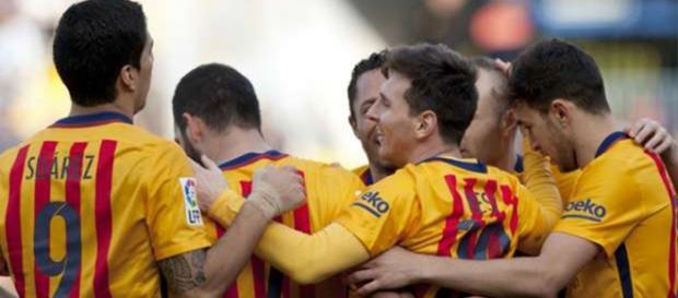 Mais uma vez, Messi brilha pelo Barcelona