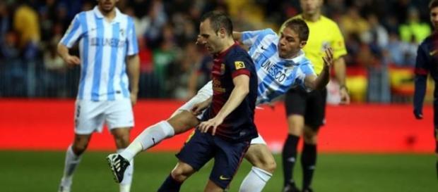 Málaga e Barcelona jogam para a Liga BBVA