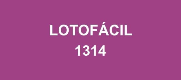 Números do sorteio Lotofácil 1314 foram divulgadas