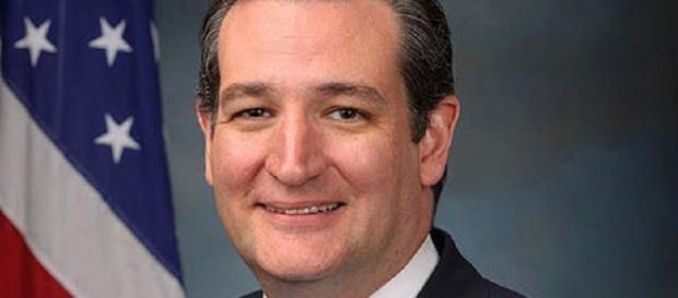 Ted Cruz, official Senate portrait