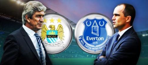 Manchester City-Everton mercoledì 27/1 alle 20:45