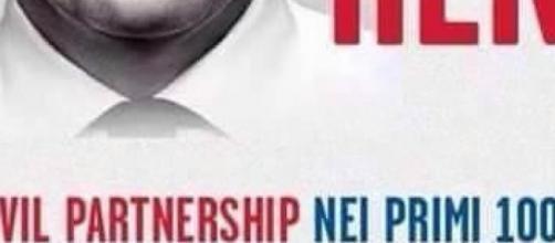 Renzi e unioni civili: matrimonio impossibile