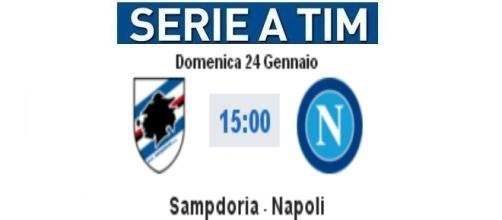 Sampdoria-Napoli live con video highlights