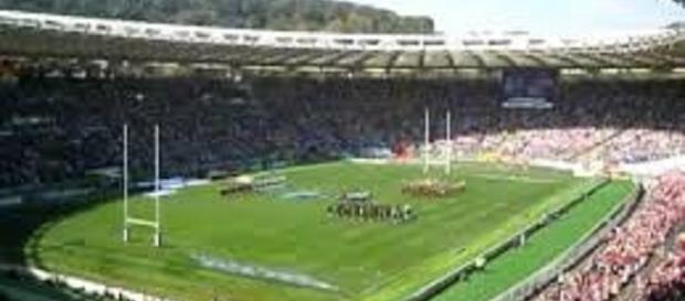 Il grande rugby all'Olimpico (foto da youtube)
