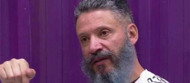 Laércio fez confissão no reality show