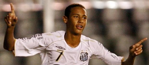Neymar disputou a Copinha em 2009