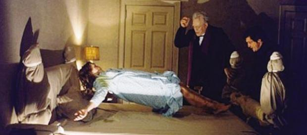 Una delle scene mitiche de L'Esorcista