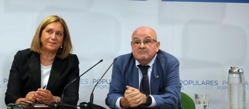 Senadores del PP por Gran Canaria.