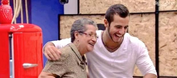 Geralda e Matheus (Reprodução/Globo)