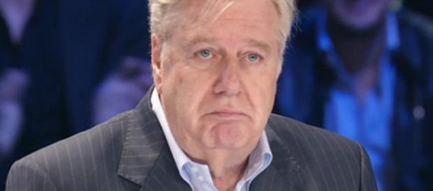 Il conduttore televisivo Claudio Lippi.