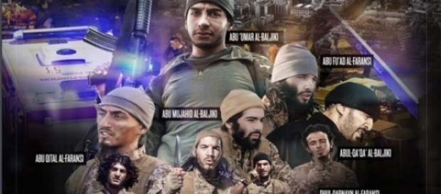 Vídeo contou com 9 jihadistas dos ataques de Paris