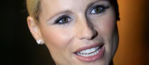 La conduttrice televisiva Michelle Hunziker.