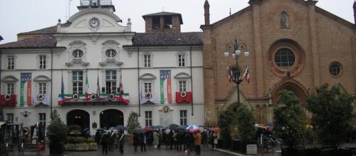 Piazza San Secondo luogo delle apparizioni